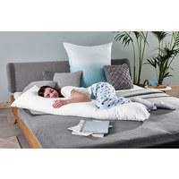 SEITENSCHLÄFERKISSEN  40/140 cm       - Weiß, Basics, Textil (40/140cm) - Sleeptex