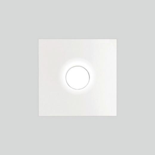 LED-DECKENLEUCHTE - Weiß, KONVENTIONELL, Metall (25/25cm)