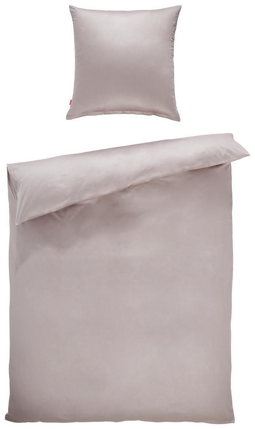 BETTWÄSCHE Makosatin Silberfarben 135/200 cm - Silberfarben, Basics, Textil (135/200cm) - Fleuresse