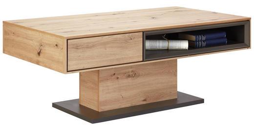 COUCHTISCH in Holzwerkstoff - Eichefarben/Grau, Design, Holzwerkstoff (115/65/44cm) - Hom`in