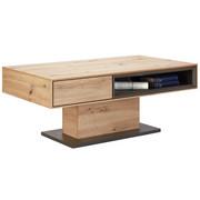 KONFERENČNÍ STOLEK - šedá/barvy dubu, Design, kompozitní dřevo (115/65/44cm) - Hom`in