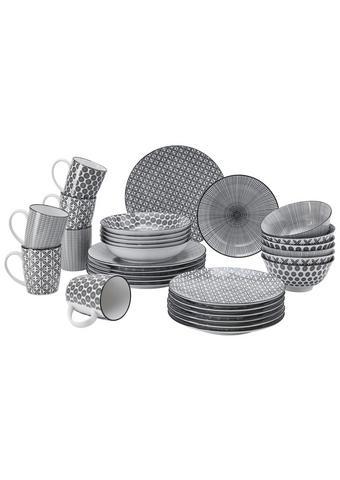 KOMBI SERVIS - bijela/crna, Lifestyle, keramika - Ritzenhoff Breker