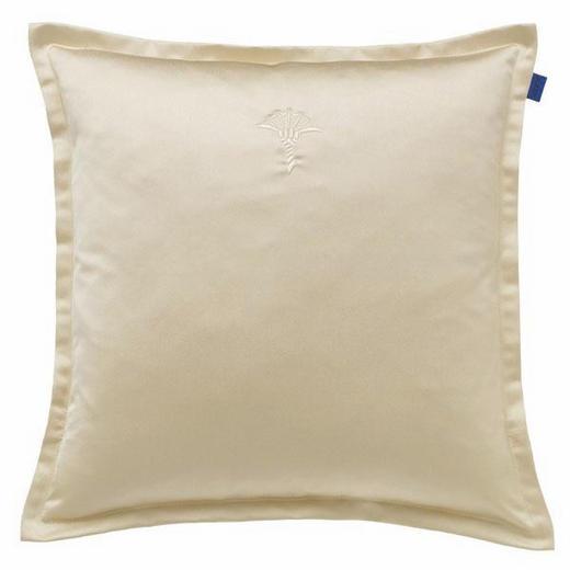 KISSENHÜLLE Creme 40/40 cm - Creme, KONVENTIONELL, Textil (40/40cm) - Joop!