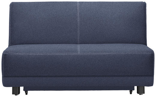 SCHLAFSOFA Blau - Blau/Beige, MODERN, Holz/Textil (145/90/96cm) - Novel