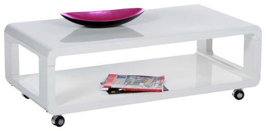COUCHTISCH rechteckig Weiß - Weiß, Design (105/41/58cm) - Carryhome