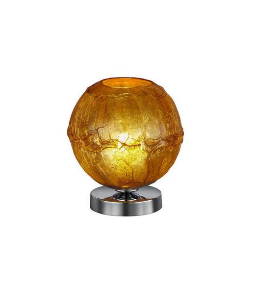 TISCHLEUCHTE - Chromfarben/Goldfarben, Design, Kunststoff/Metall (20,0/23,0cm)