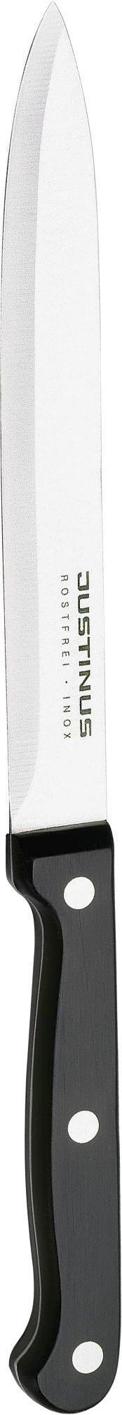 SCHINKENMESSER KüchenChef - Schwarz, Kunststoff/Metall (25cm) - JUSTINUS
