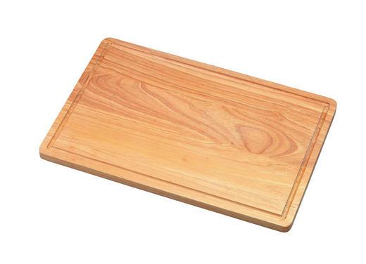 SCHNEIDEBRETT Holz - Naturfarben, Holz (23/35cm) - Justinus