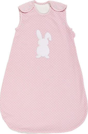 PYTEL SPACÍ DĚTSKÝ - bílá/růžová, Basics, textil (90cm) - MY BABY LOU