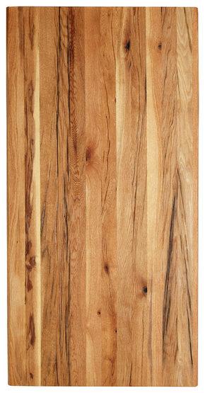 BORDSSKIVA - ekfärgad, Natur, trä (200/100/4cm) - Valdera