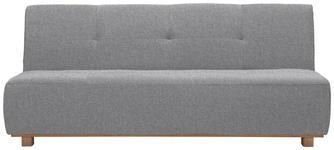 SCHLAFSOFA in Textil Hellgrau  - Hellgrau, Design, Holz/Textil (202/88/103cm) - Novel