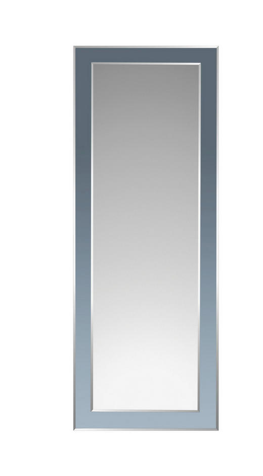 ZRCADLO - barvy stříbra/černá, Design, sklo (60/160/1,5cm) - Boxxx