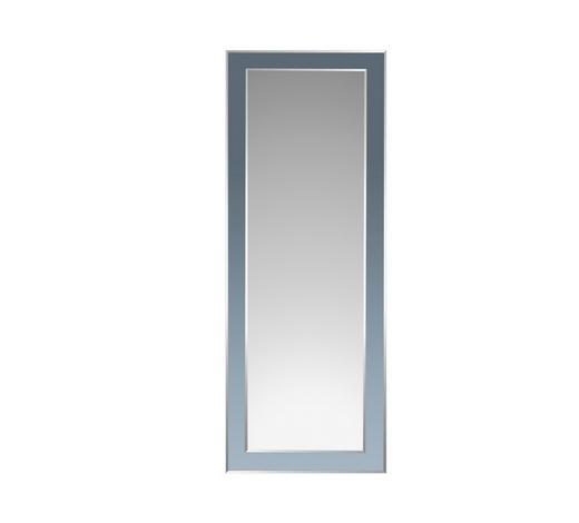 ZRCADLO, obdélníkové - barvy stříbra/černá, Design, sklo (60/160/1,5cm) - Boxxx
