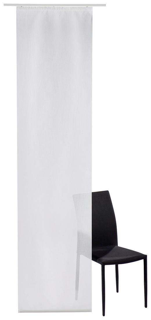 FLÄCHENVORHANG   transparent   60/245 cm - Naturfarben, MODERN, Textil (60/245cm) - Novel