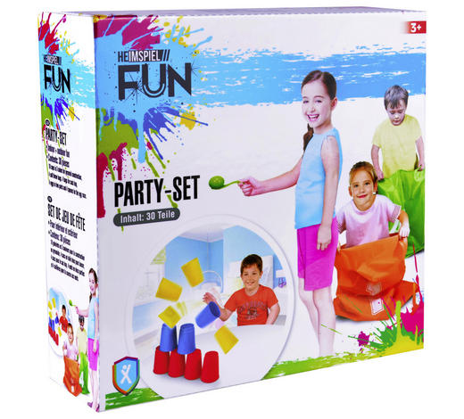 FUN PARTY-SET 30-TLG - Trend, Kunststoff