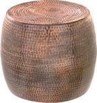 BEISTELLTISCH in Kupferfarben - Kupferfarben, Trend, Metall (39/39/39cm) - Ambia Home