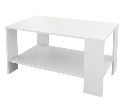 KLUB STOLIĆ - bijela, Design, drvni materijal (95/42/55cm) - Boxxx