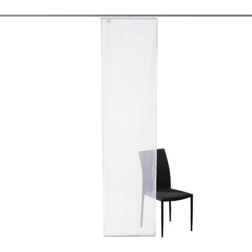 FLÄCHENVORHANG     60/245 cm - Weiß, Basics, Textil (60/245cm) - BOXXX