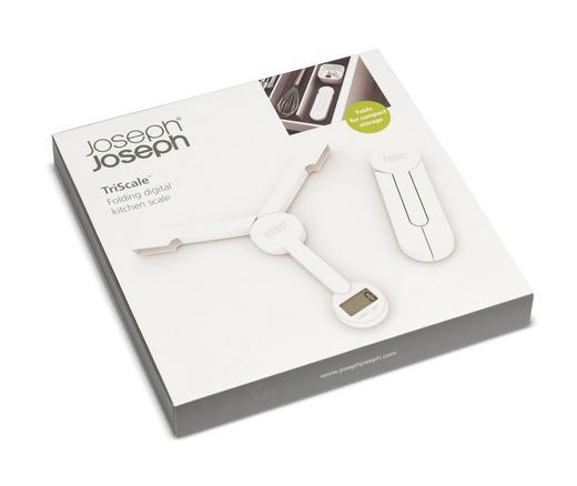 KUHINJSKA VAGA ELEKTRONSKA - bijela, Basics, plastika (21,9cm)