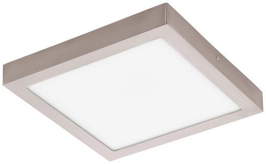 LED-DECKENLEUCHTE - Silberfarben/Weiß, Basics, Metall (30/30cm)