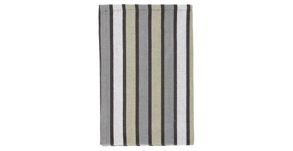 GESCHIRRTUCH-SET 2-teilig Dunkelgrau  - Dunkelgrau, KONVENTIONELL, Textil (40/60cm) - Esposa