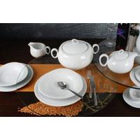 SPEISETELLER Keramik Porzellan  - Weiß, Basics, Keramik (28cm) - Seltmann Weiden