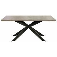 JEDILNA MIZA,  - Design, kovina/leseni material (180/76/90cm) - Novel