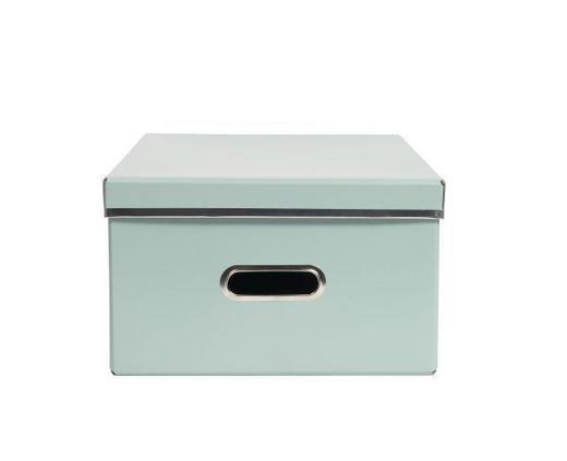 DEKOBOX - Mintgrün, Basics, Papier (39,5/29/17cm)