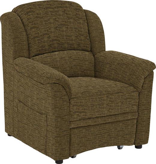 SESSEL in Textil Gelb, Currygelb - Currygelb/Gelb, KONVENTIONELL, Kunststoff/Textil (94/98/89cm) - Beldomo Comfort