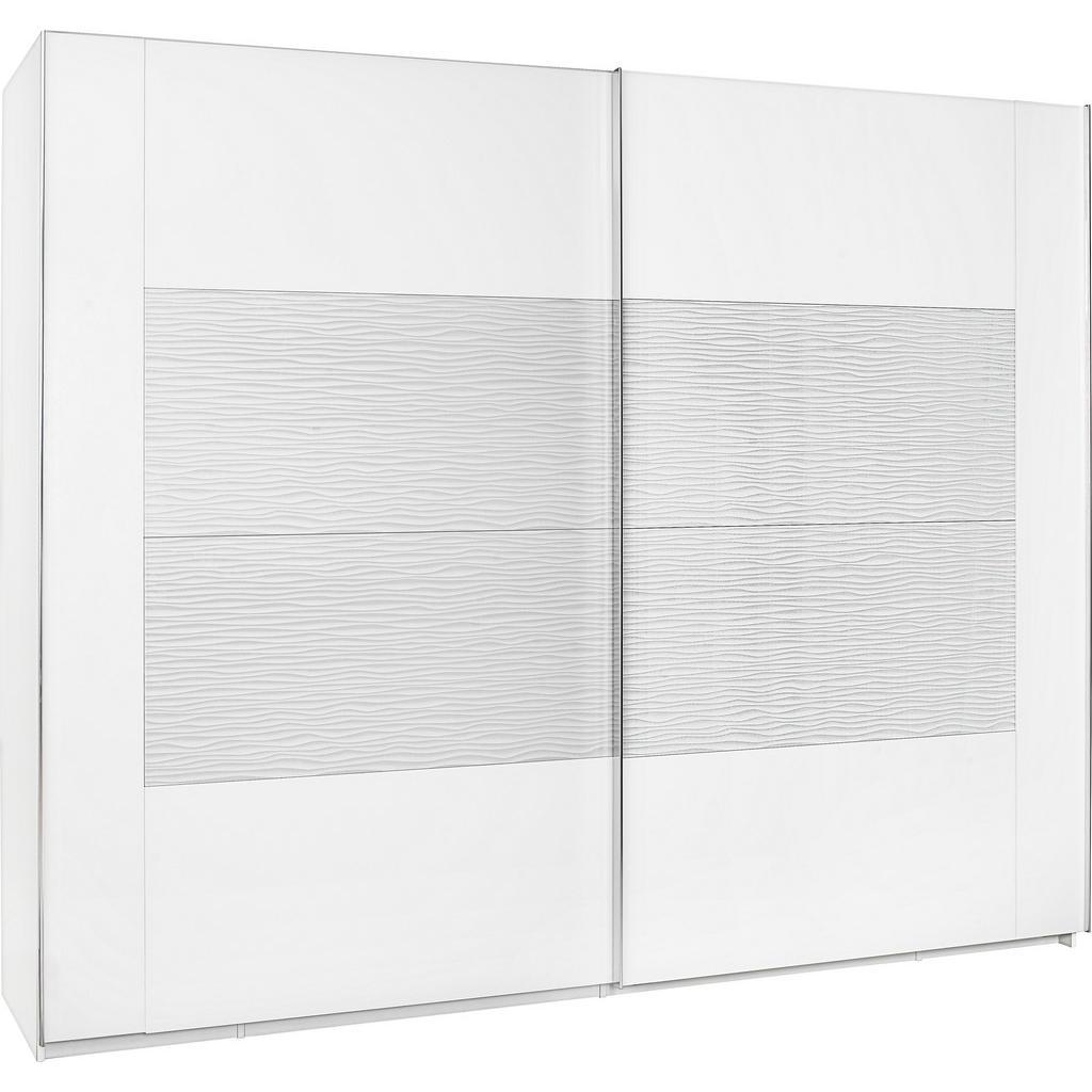 Xora SKŘÍŇ S POS. DVEŘMI.(HOR.VED.), bílá, 271/223/69 cm