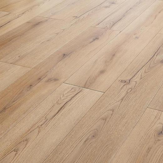 LAMINATBODEN  Eichefarben  per m² - Eichefarben, Basics, Holz/Kunststoff (138/19.3/0.8cm) - Venda