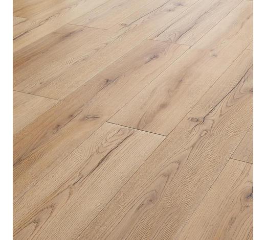 LAMINATBODEN  Eichefarben  per m²  - Eichefarben, Basics, Holz/Kunststoff (138/19,3/0,8cm) - Venda