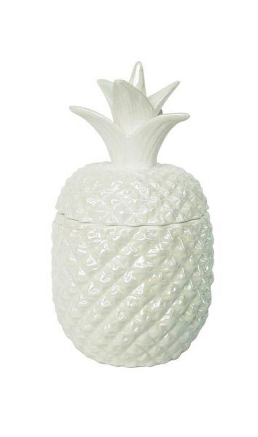 DOSE - Weiß, Basics, Keramik (11,5/22,5/11cm) - Ambia Home