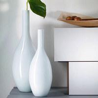 BODENVASE 65 cm - Weiß, Basics, Glas (65cm) - Leonardo