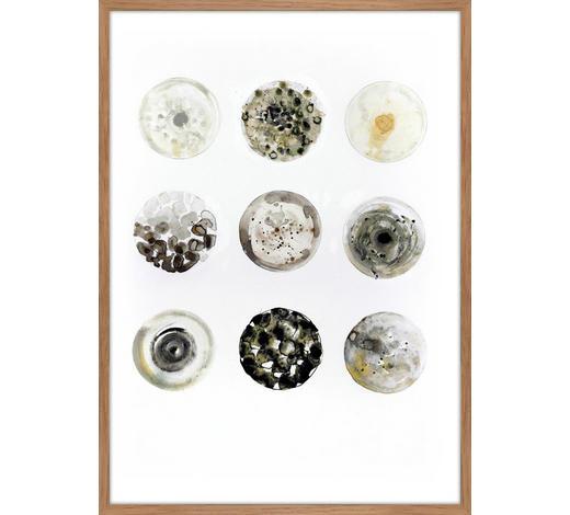 KUNSTDRUCK - Eichefarben/Multicolor, KONVENTIONELL, Holzwerkstoff (50/70cm) - Monee