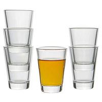 GLÄSERSET 6-teilig - Klar, Glas (15,3/7,4/10,4cm) - LEONARDO