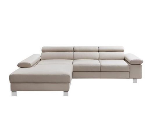 wohnlandschaft echtleder grau online kaufen xxxlutz. Black Bedroom Furniture Sets. Home Design Ideas