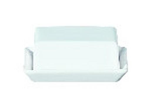 BUTTERDOSE Keramik Ton - Weiß, Basics, Keramik (16,5/13,5/7cm) - ASA