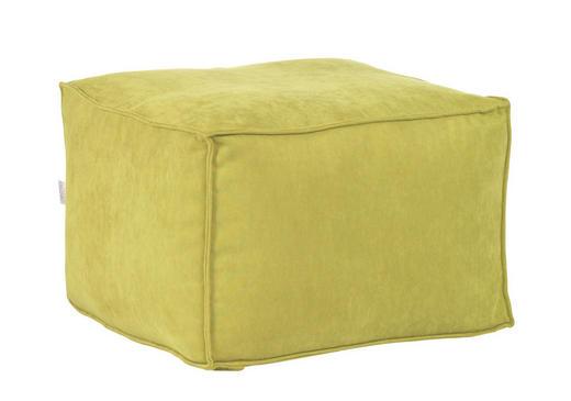 SITZWÜRFEL Flachgewebe Grün - Grün, Design, Textil (65/45/65cm) - Carryhome