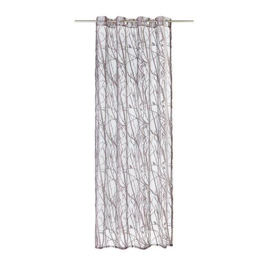 ÖSENSCHAL  halbtransparent  140/245 cm - Braun, Design, Textil (140/245cm) - Esposa