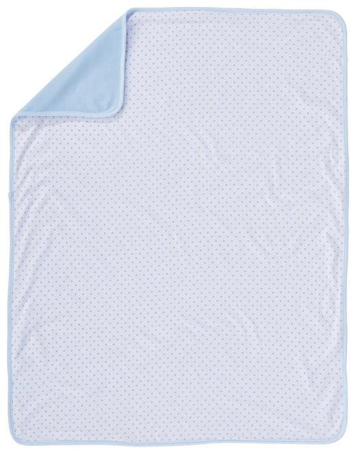 SCHMUSEDECKE - Blau/Weiß, Basics, Textil (75/100cm) - My Baby Lou