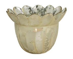 LJUSSTAKE - silver, Lifestyle, glas (11/15cm) - Ambia Home