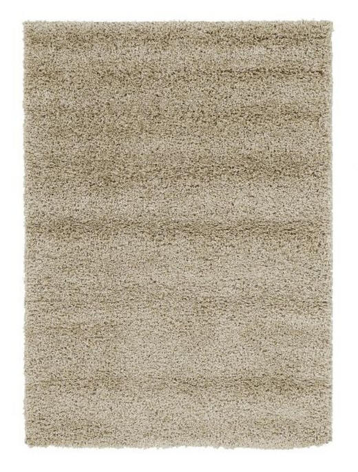 HOCHFLORTEPPICH  65/130 cm  gewebt  Beige - Beige, LIFESTYLE, Textil (65/130cm) - Novel