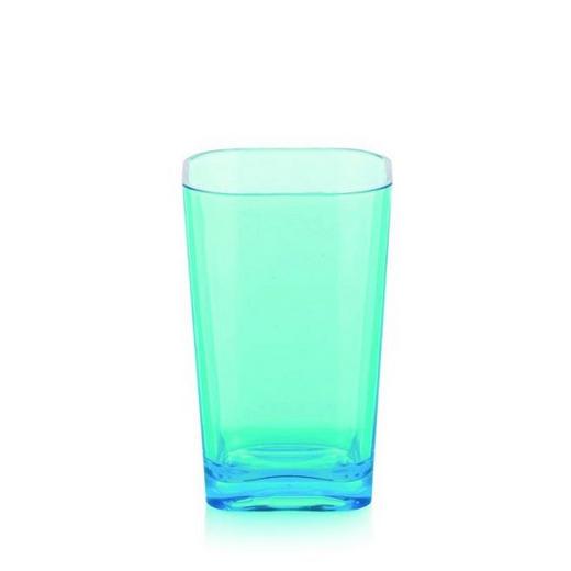 ZAHNPUTZBECHER - Blau, Basics, Kunststoff (7.5/12cm)