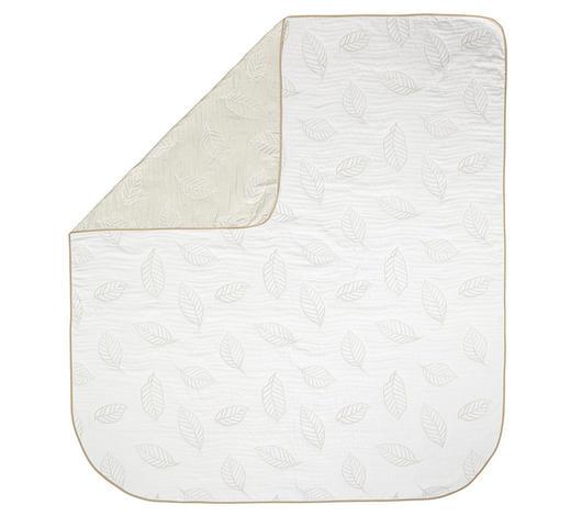TAGESDECKE 220/240 cm - Weiß/Grau, Basics, Textil (220/240cm) - Novel