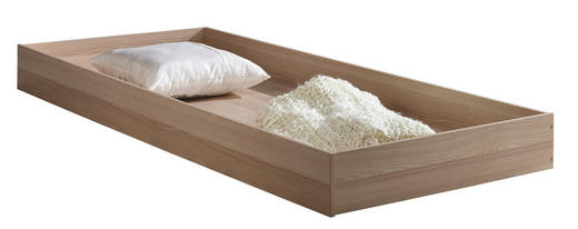 BETTKASTEN 202/17/83 cm Eschefarben - Eschefarben, Design, Holz/Kunststoff (202/17/83cm) - Carryhome