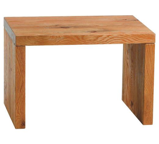 NACHTKÄSTCHEN in massiv Wildeiche Eichefarben - Eichefarben, Design, Holz (48/32/38cm) - Hasena