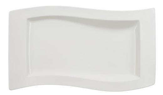 SERVIERPLATTE - Weiß, Basics, Keramik (30/49cm) - Villeroy & Boch