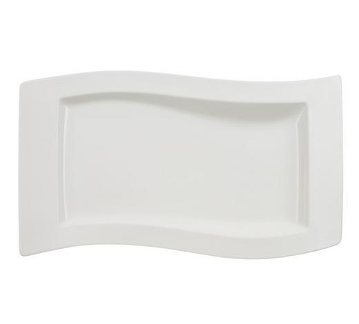 SERVIERPLATTE - Weiß, Design, Keramik (30/49cm) - Villeroy & Boch