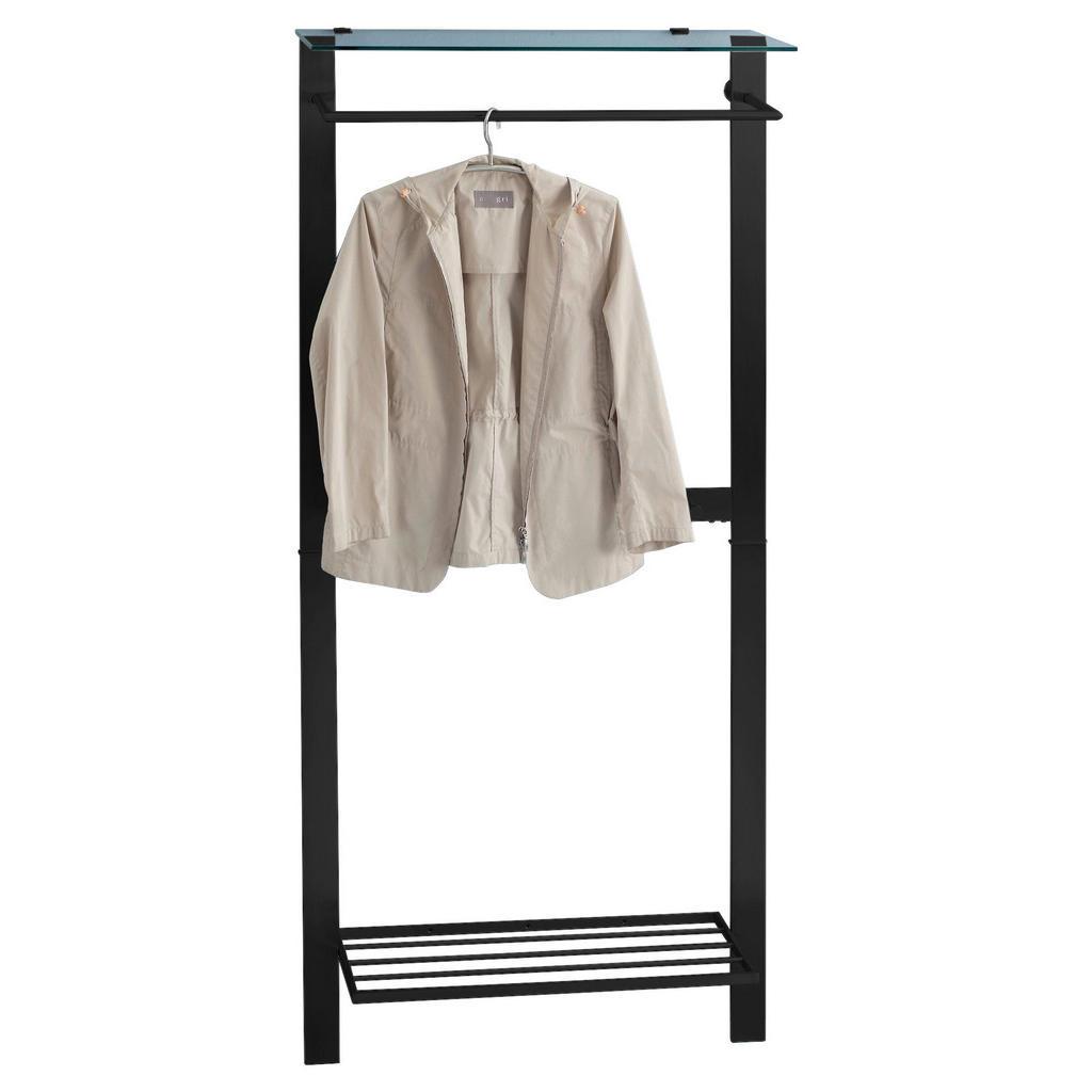 XXXLutz Garderobenpaneel grau
